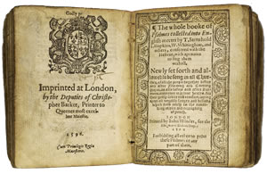Book of Common Prayer (1596)