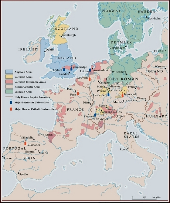 A history of the protestant reformation in the 16th century europe