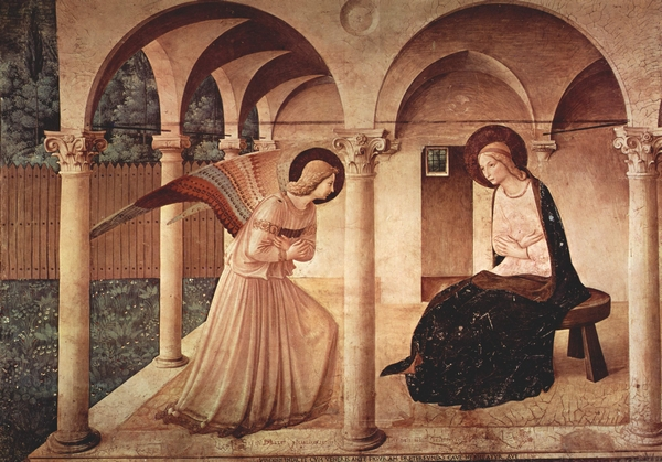 The Annunication, by Fra Angelico