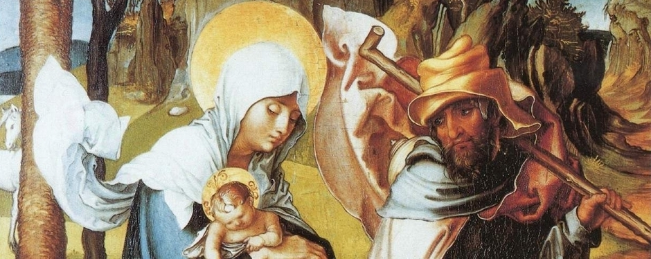 Durer - The Flight into Egypt