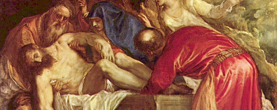 Titian -   The Descent from the Cross